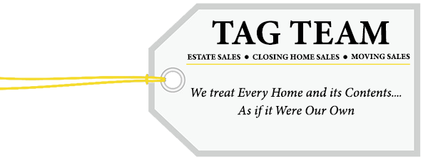 Tag Team Toledo Estate Sales Logo